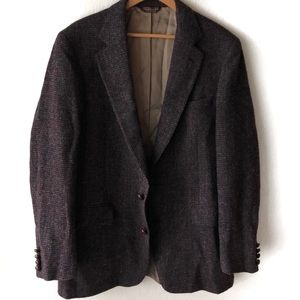 VINTAGE HARRIS TWEED Nordstrom Jacket 42L